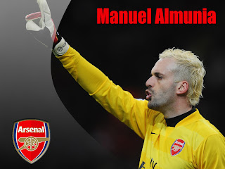 Wallpaper Manuel Almunia