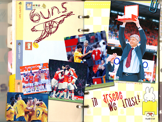 Wallpaper Arsene Wenger