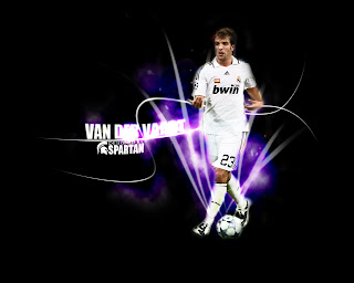 Rafael Van Der Vaart Wallpaper Real Madrid