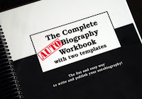 My copy of The Complete Autobiography Workbook