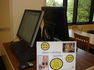 Picture of music listening stations