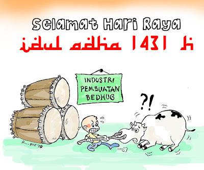 coretan kemarin: Selamat Idul Adha 1431 H