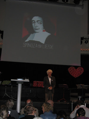 Frank van Kreuningen op de 2e Spinozadag 22 nov. 2009