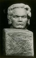 Rudolf Saudek's Beethoven-Büste