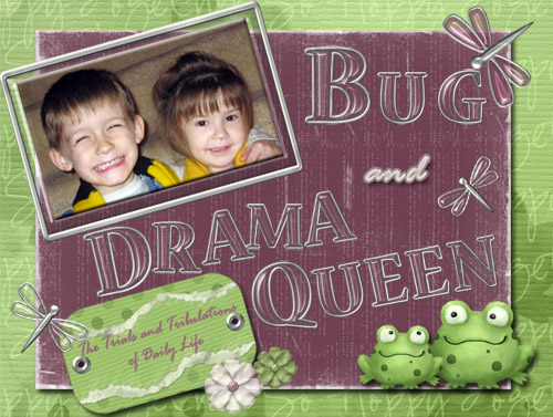 The Bug and The Drama Queen