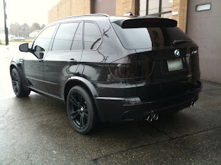 Blacked out bmw x5