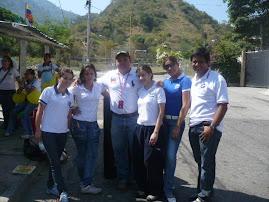 PARTICIPANTES DE LA UNESR EN SERVICIO COMUNITARIO