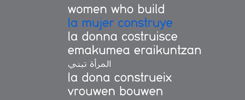 la mujer construye