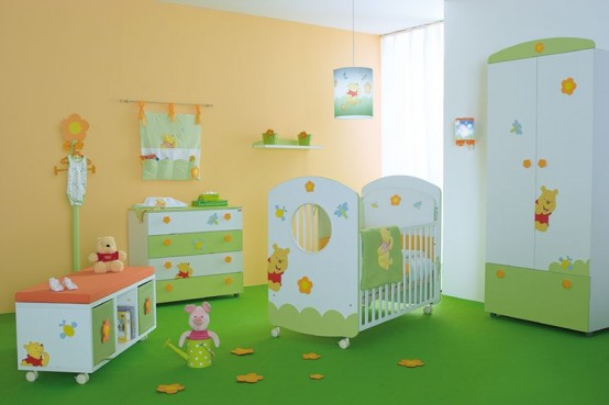 BABY ACCESSORIES: Planning a Winnie the Pooh Themed Baby Nursery
