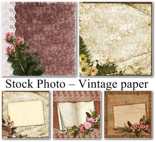 Stock Photo Vintage paper