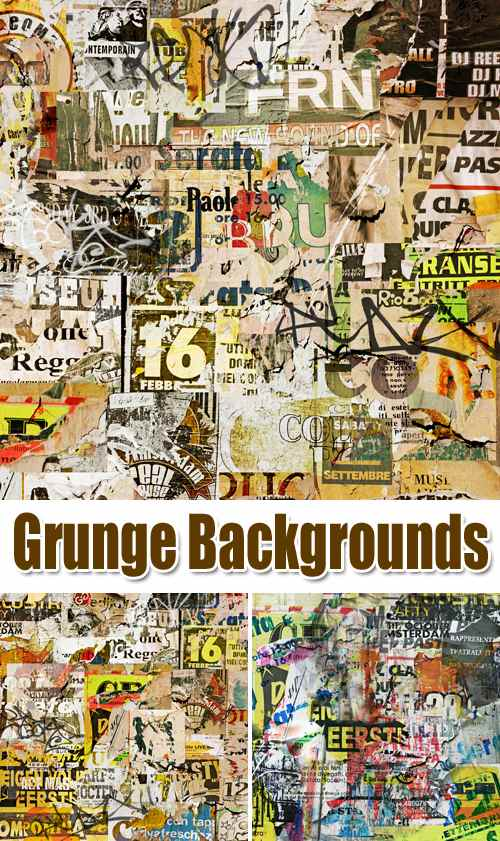 Stock Photo - Grunge Backgrounds