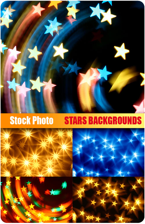Stock Photo - Stars Backgrounds