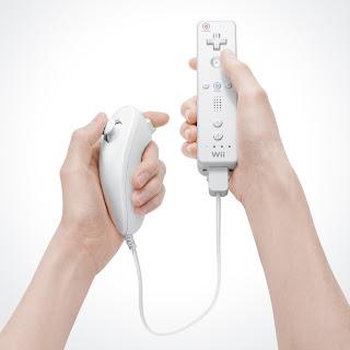 Jugando a la Wii