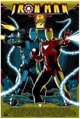 Iron Man 2 - Pósters Vintage