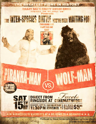 Piranha Man vs Wolf Man
