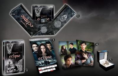 Eclipse Edición Exclusiva Anillo - Detalles del Pack
