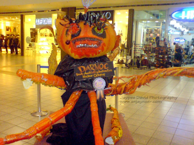 Halloween Exhibit at SM City Clark, Paper Mache creations, Monster Pictures