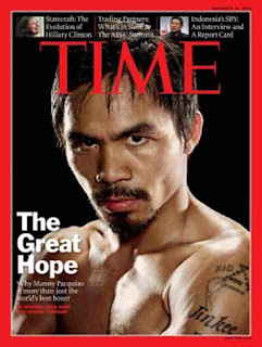 Manny Pacman Pacquiao, Time Magazine Asia Feature, The Great Hope