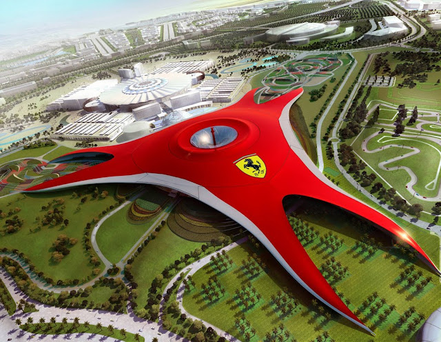 Ferrari World Theme Park, Abu Dhabi