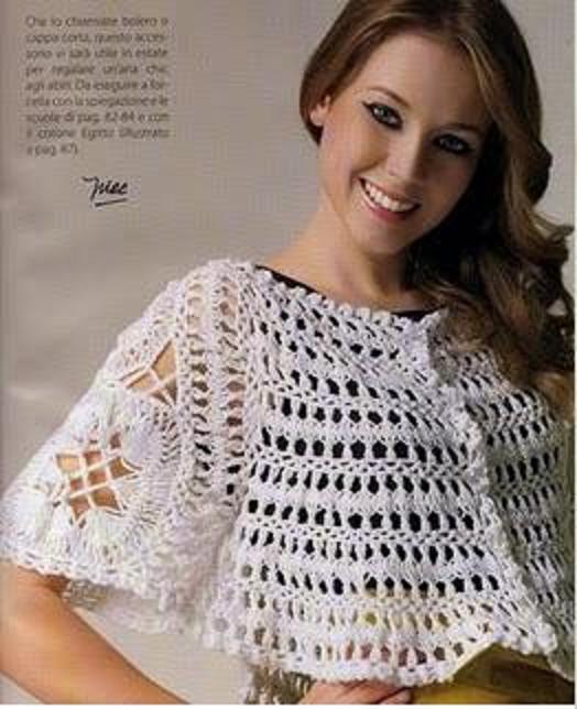 Blusas tejidas de horquilla - Imagui