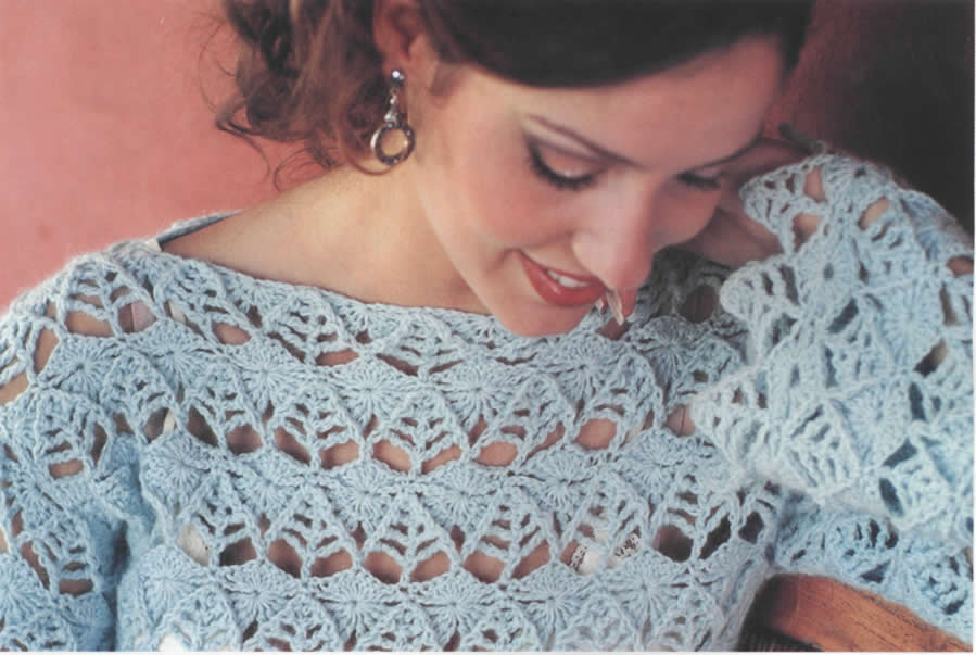 Blusa En Crochet