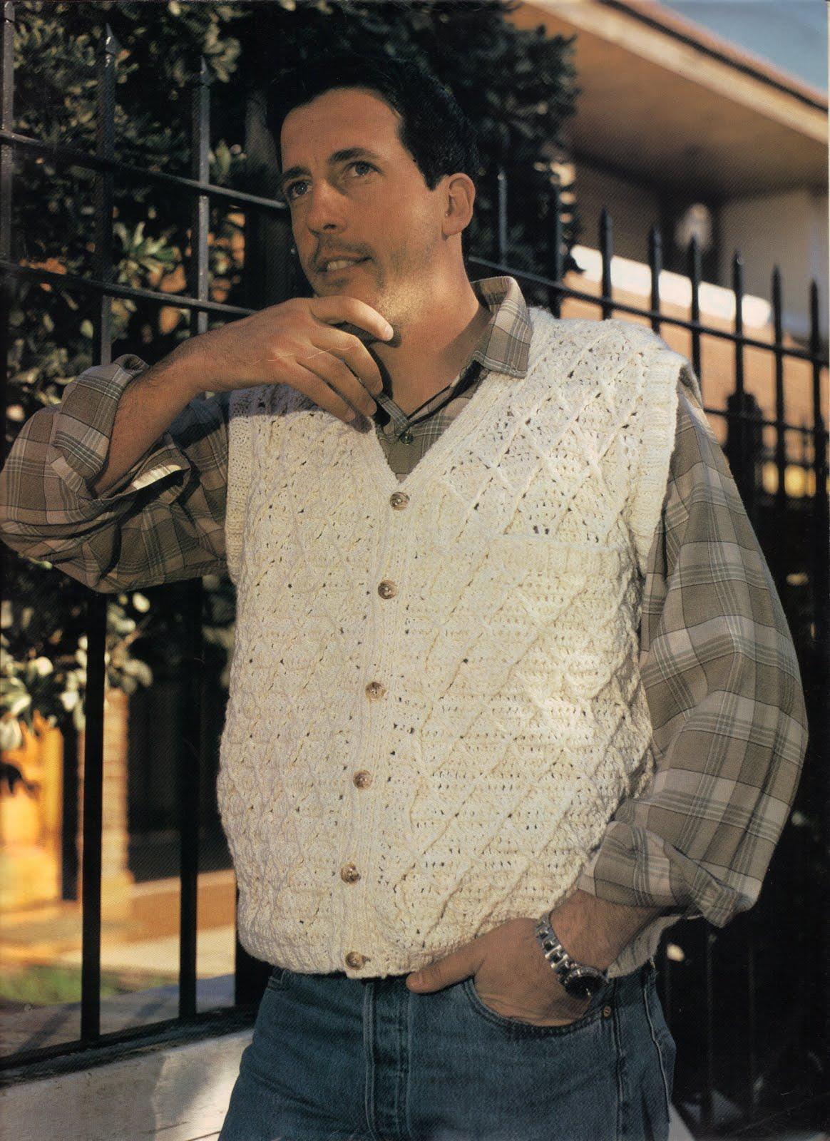 CARAMELO DE CROCHET: mas ideas de crochet para hombres