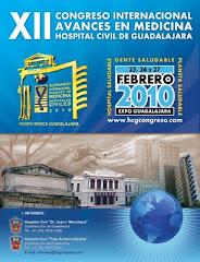 El Complejo Médico Hospital Civil de Guadalajaa, anuncia su próximo Congreso para 2010