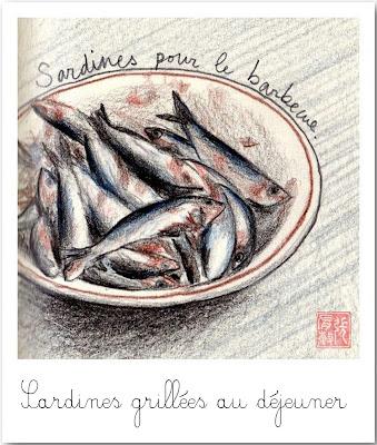 La bouche pleine me voil bien cheesecake retour de belgique - Comment faire griller des sardines ...
