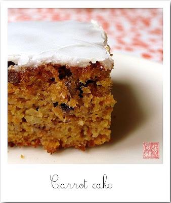 Recette Carot Cake Pour Une Classe De Maternelle