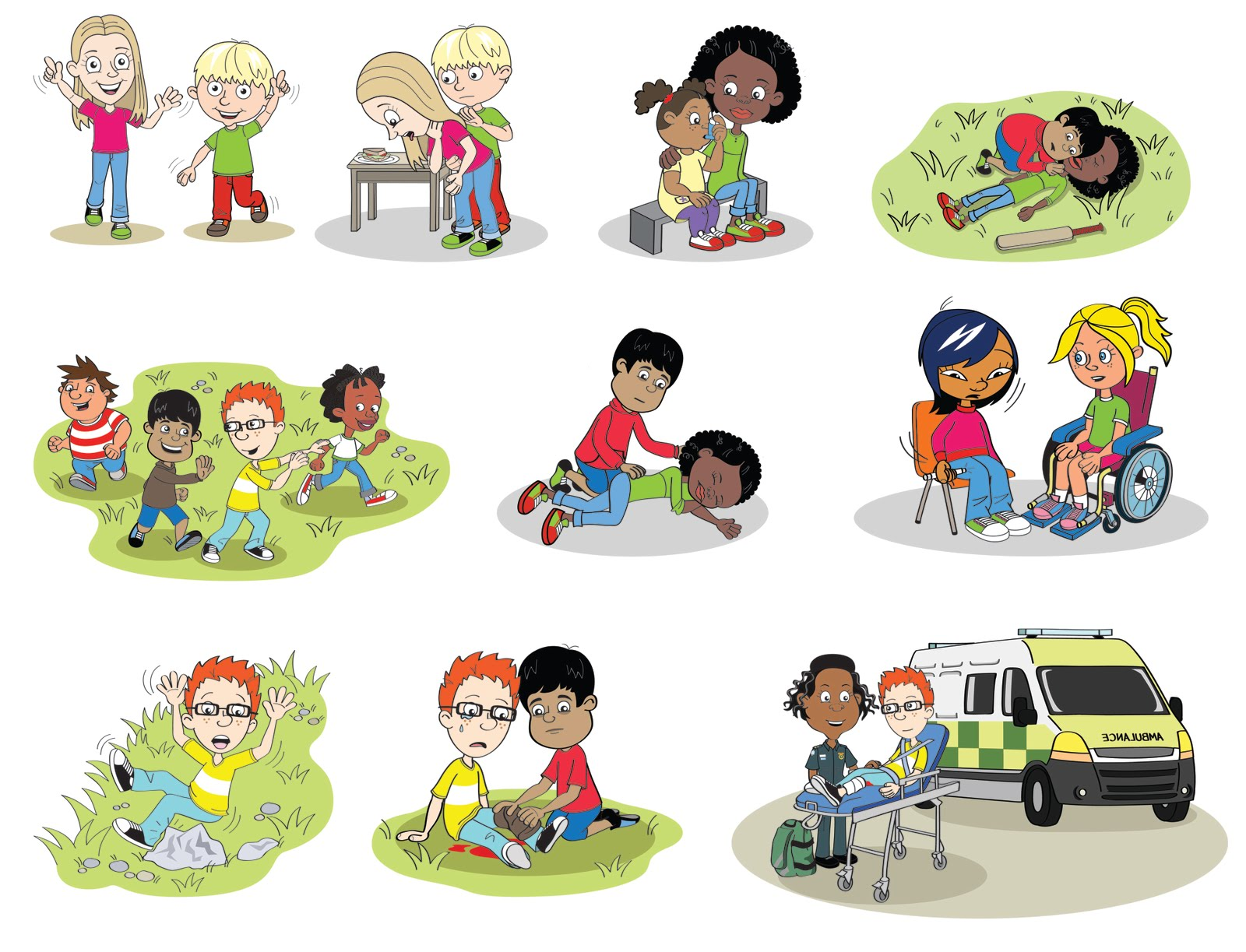 Emily Snape: British Red Cross' first aid website for children