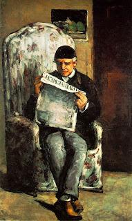 leyendo periodico