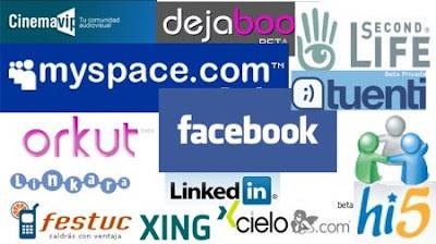 redes sociales famosas