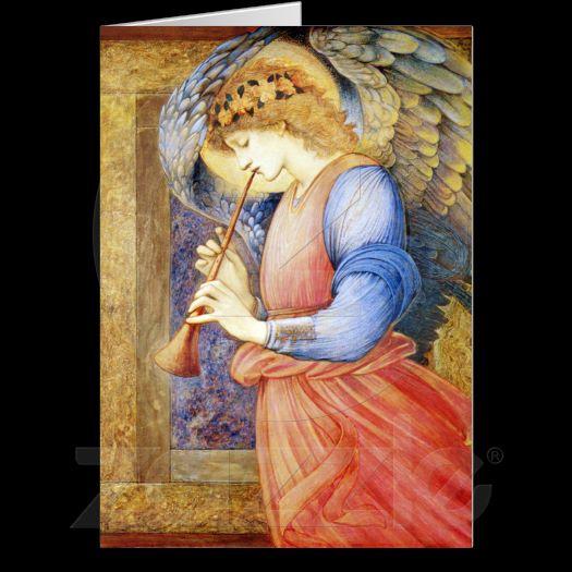 ... Angel Burne-Jones Postage Note Cards