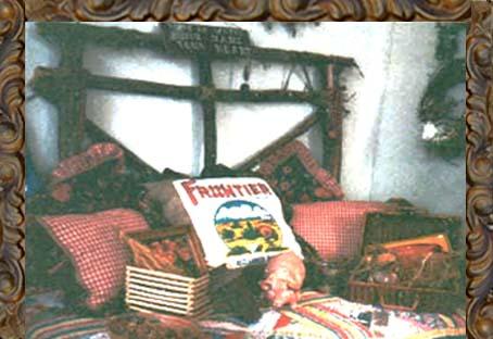 Amber Rose - feed sack bedding