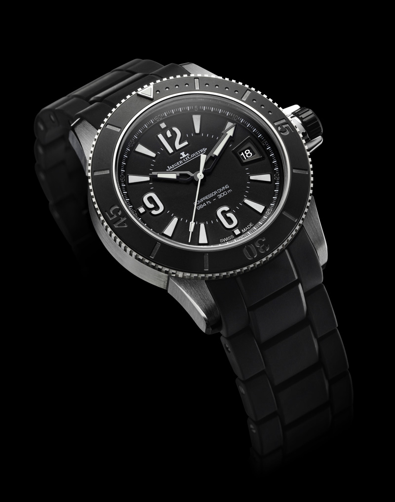 Jaeger - Ma plongeuse Jaeger LECOULTRE - Master Compressor Diving Chronograph GMT Navy SE Mcdautomaticnavyseals