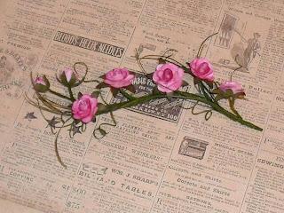 Цветы из бумаги МК