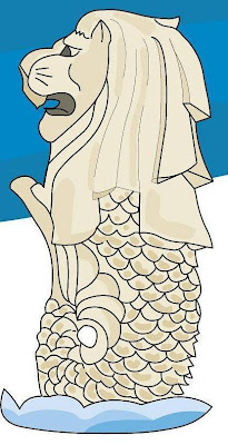How to draw merlion