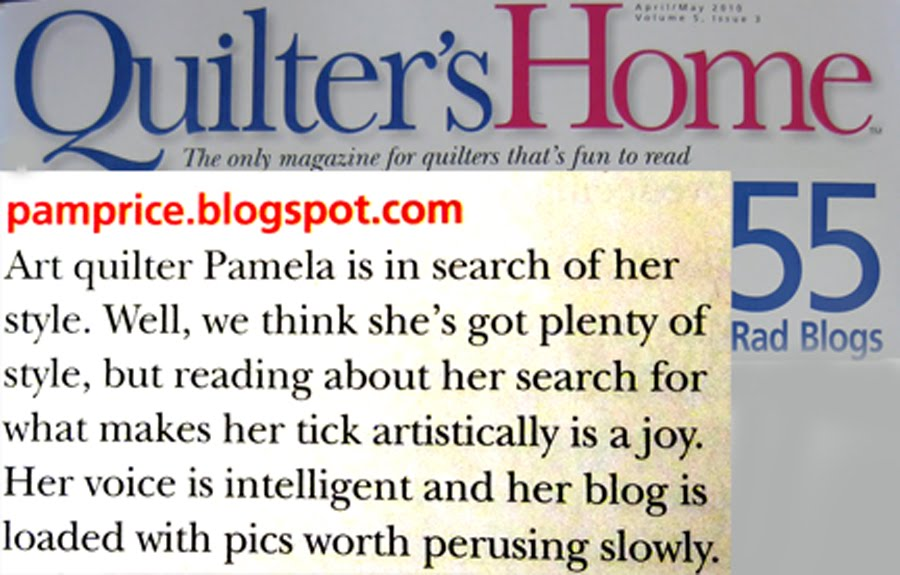 """Quilter's Home"" honor"