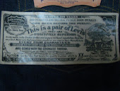 Levis Oil Cloth circa 1957