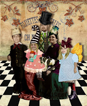 Our Altered Art Family Portrait