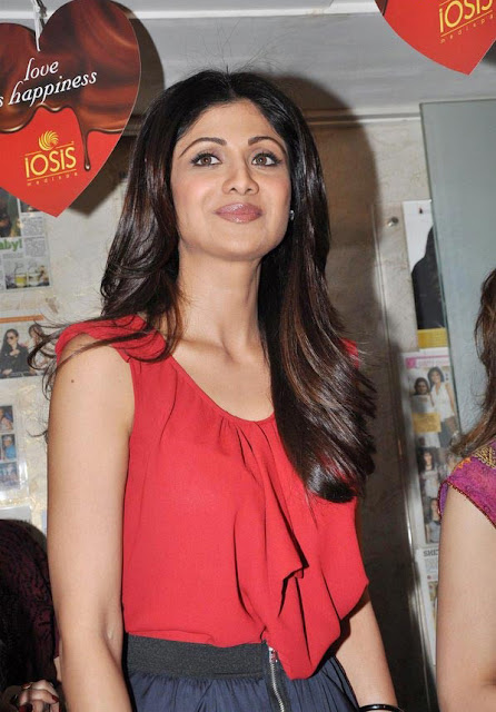 Shilpa Shetty at IOSIS Spa Launch