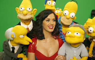 "Katy Perry – ""The Simpsons"" Promo Photo - Wall paper - Full HD"