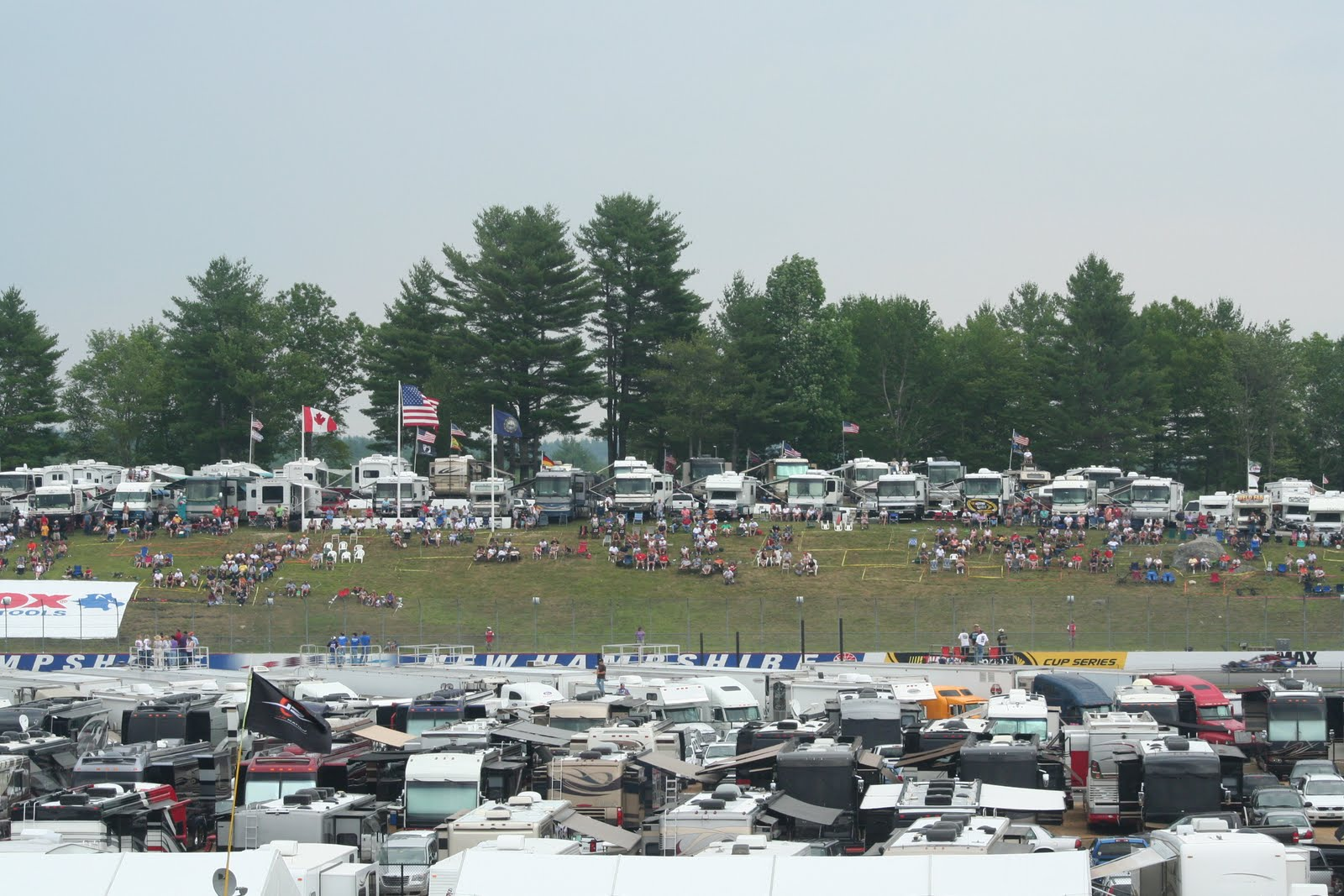 New Hampshire Motor Speedway Camping
