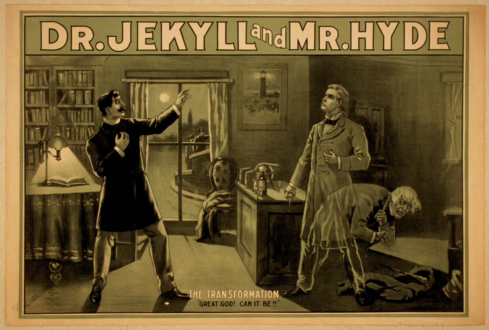 dr jekyll Stevenson's most famous book, the strange case of dr jekyll and mr hyde, was  written as a gothic story for the christmas market he wrote the book in six.