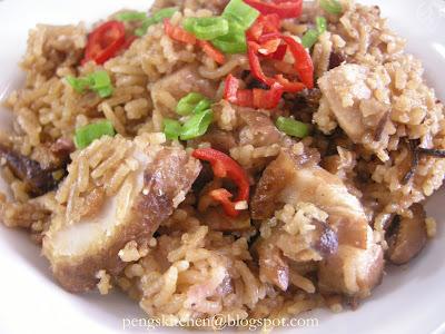 Peng's Kitchen: Yam Rice