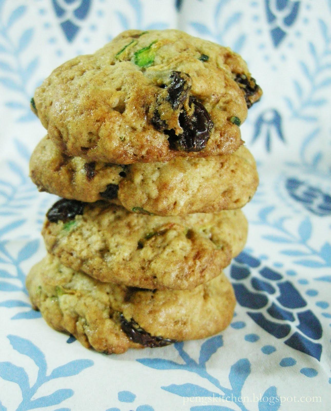 Peng's Kitchen: Zucchini Cookies