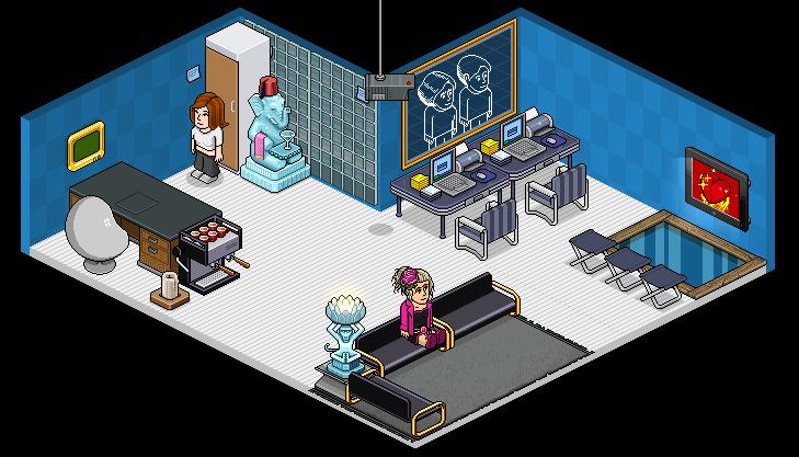 Sala De Estar Habbo ~ sala dos acionistas da editora sala de reuniões tb