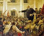 Lenin Proclama la Toma del Poder