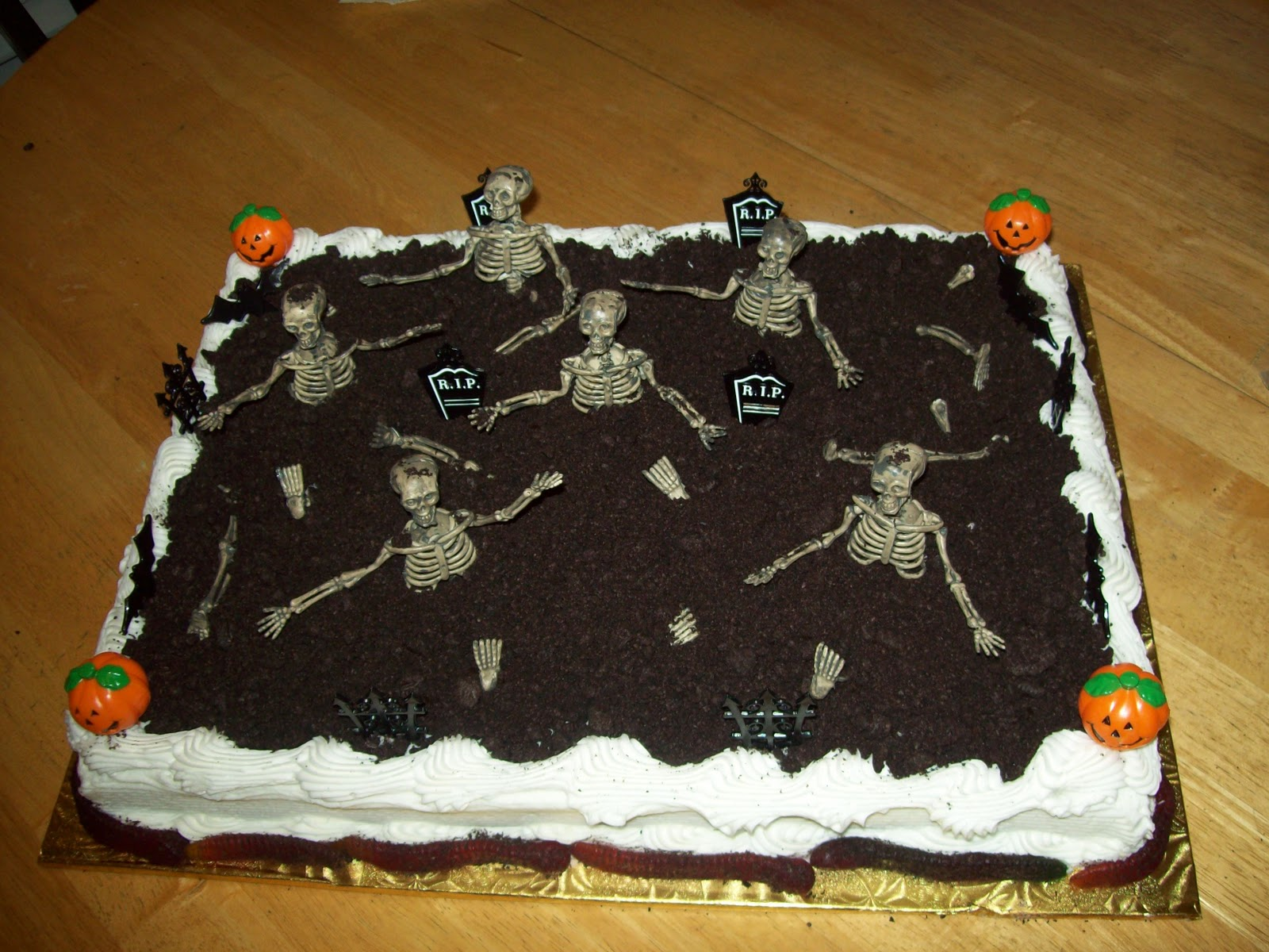 The Red Headed Baker Halloween Birthday Cake