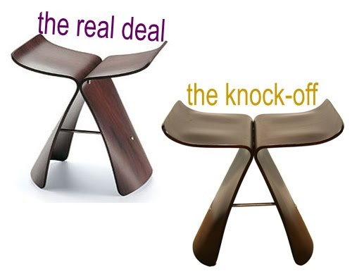 laurendy knock it off vitra butterfly stool. Black Bedroom Furniture Sets. Home Design Ideas